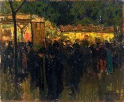 Fairground | Louis Abel-Truchet | Oil Painting