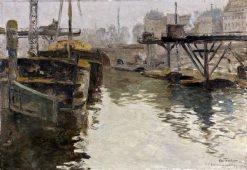 Barges | Louis Abel-Truchet | Oil Painting