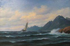 Coastal Landscape | Martin Aaraard | Oil Painting