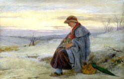 Mrs. Bagnet from Bleak House | John Absolon | Oil Painting