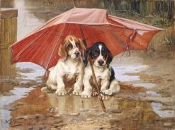 Wait 'til the Clouds Roll By | William Henry Hamilton Trood | Oil Painting