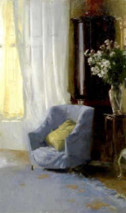 Corner of the Artist's Drawing Room | Patrick William Adam | Oil Painting