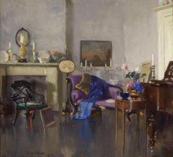 The Studio of FCB Cadell | Patrick William Adam | Oil Painting