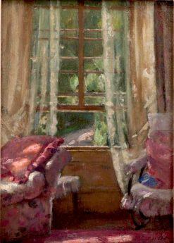 Through a Window | Patrick William Adam | Oil Painting