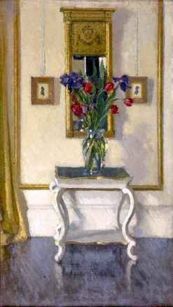 The White Flower Stand | Patrick William Adam | Oil Painting