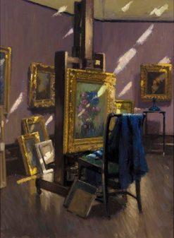 Studio Gleams | Patrick William Adam | Oil Painting