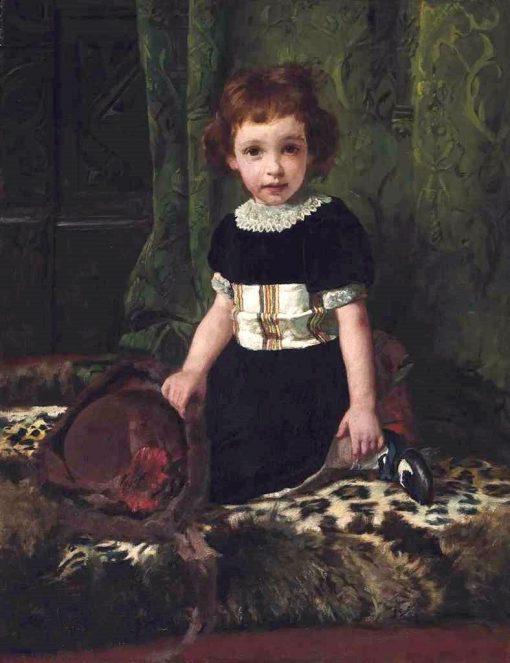 Lily Cocciolitti | Arthur John Elsley | Oil Painting