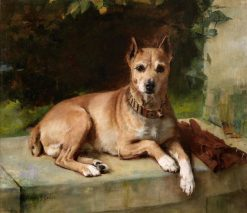 A Faithful Companion | Arthur John Elsley | Oil Painting