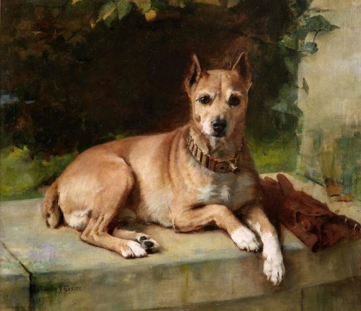 A Faithful Companion   Arthur John Elsley   Oil Painting