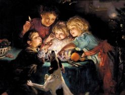 Snapdragon | Arthur John Elsley | Oil Painting