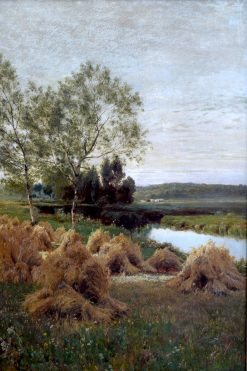 Evening Harvest | John Clayton Adams | Oil Painting