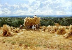 Harvest Scene | John Clayton Adams | Oil Painting