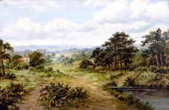 The Bridle Path | John Clayton Adams | Oil Painting