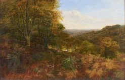 Landscape with Deer | George Vicat Cole | Oil Painting