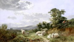Watching the Herd | George Vicat Cole | Oil Painting