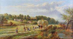 Haymaking | George Vicat Cole | Oil Painting