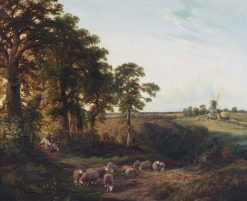 The Weald of Surrey | George Vicat Cole | Oil Painting