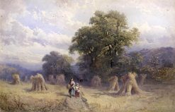After the Harvest | George Vicat Cole | Oil Painting