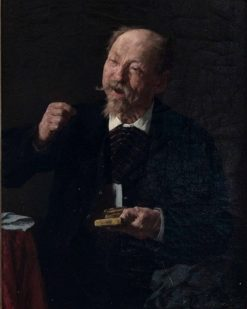 It is to Sneeze | Louis Charles Moeller | Oil Painting