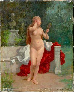 Nude | Louis Charles Moeller | Oil Painting