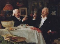 The Toast | Louis Charles Moeller | Oil Painting