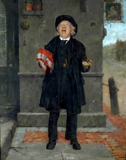 Sneezing | Louis Charles Moeller | Oil Painting