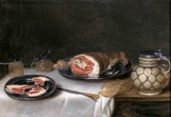 Still Life with Fish and Vegetables | Alexander Adriaenssen | Oil Painting