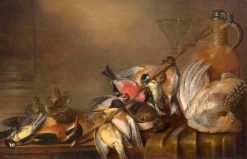 Hunting Still Life with Birds | Alexander Adriaenssen | Oil Painting