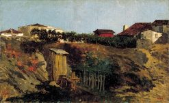 Portici Landscape | Mariàno Fortuny y Marsal | Oil Painting