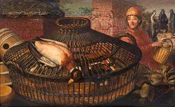 The Poultry Dealer | Pieter Aertsen | Oil Painting