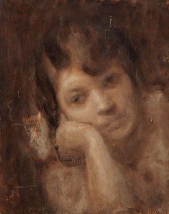 Marguerite Carrière | Eugène Carrière | Oil Painting