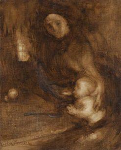 Maternity | Eugène Carrière | Oil Painting