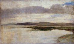 Landscape of Balaton   Gyula Aggházy   Oil Painting