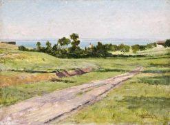 Lakeside by Balaton   Gyula Aggházy   Oil Painting