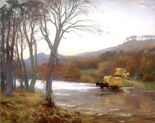 A Frosty Morning | David Farquharson | Oil Painting