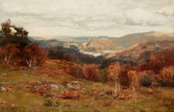 Hills above Dunkeld   David Farquharson   Oil Painting