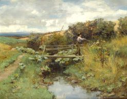 Return from the Field   David Farquharson   Oil Painting