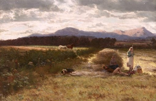 A Summer's Day in Galloway | David Farquharson | Oil Painting