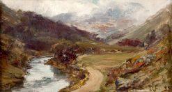 Glen Tilt   David Farquharson   Oil Painting
