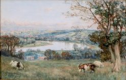 The Seine from St. Cloud | David Farquharson | Oil Painting