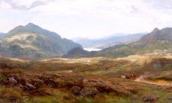 Loch Katrine   David Farquharson   Oil Painting