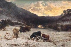 A Winter Afternoon in Glen Lyon