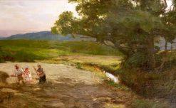 Meadow Scene   David Farquharson   Oil Painting
