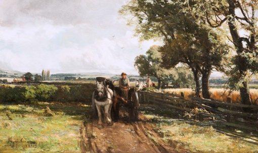 A Field Load | David Farquharson | Oil Painting