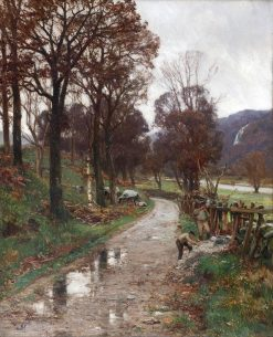 The Wood Cutters | David Farquharson | Oil Painting