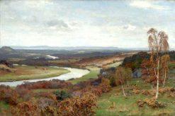 From Birnam Wood to Dusinane   David Farquharson   Oil Painting