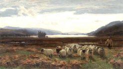 Kilchurn Castle   David Farquharson   Oil Painting