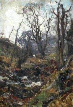 Study of a Glen   David Farquharson   Oil Painting