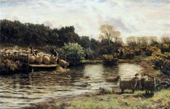 The Crossing Place   David Farquharson   Oil Painting