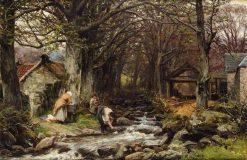 Washington at the Stream | David Farquharson | Oil Painting